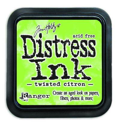 Mini Distress Ink Pad - Twisted Citron