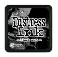 Mini Distress Ink Pad - Black Soot