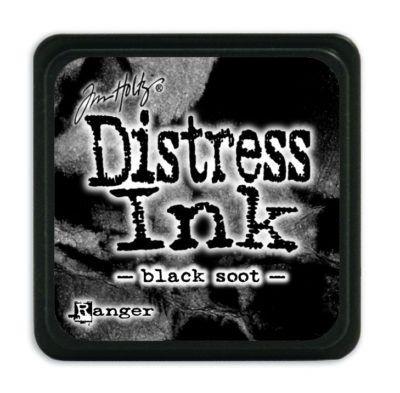 Mini Distress Ink Pad - Black Soot