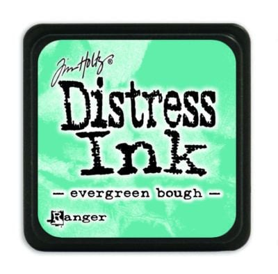 Mini Distress Ink Pad - Evergreen Bough