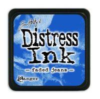 Mini Distress Ink Pad - Faded Jeans