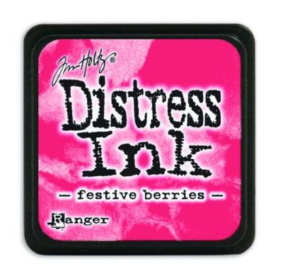 Mini Distress Ink Pad - Festive Berries