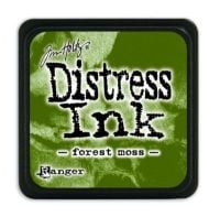 Mini Distress Ink Pad - Forest Moss