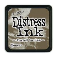 Mini Distress Ink Pad - Frayed Burlap