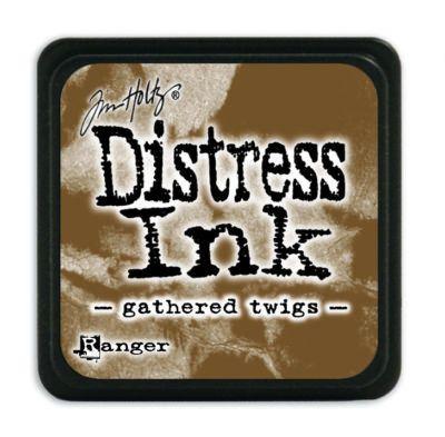 Mini Distress Ink Pad - Gathered Twigs