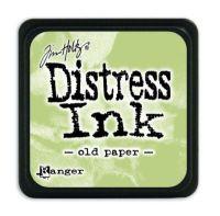 Mini Distress Ink Pad - Old Paper