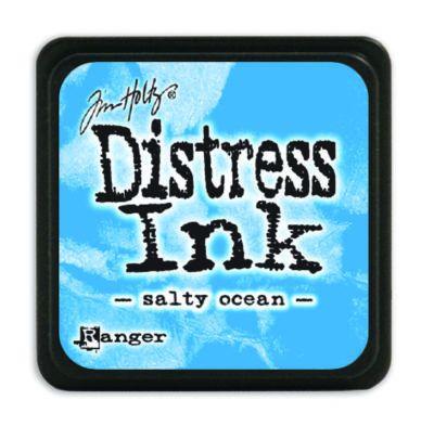Mini Distress Ink Pad - Salty Ocean
