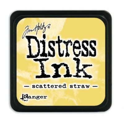 Mini Distress Ink Pad - Scatterd Straw