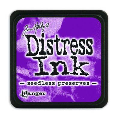 Mini Distress Ink Pad - Seedless Preserves