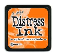Mini Distress Ink Pad - Spiced Marmalade
