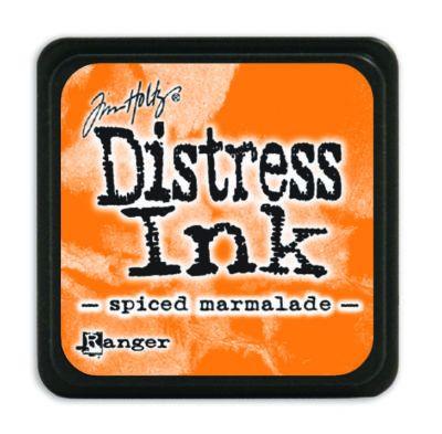Mini Distress Ink Pad - Spiced Marmalade