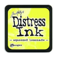 Mini Distress Ink Pad - Squeezed Lemonade