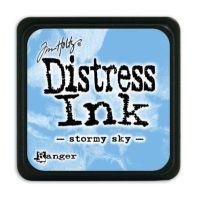 Mini Distress Ink Pad - Stormy Sky