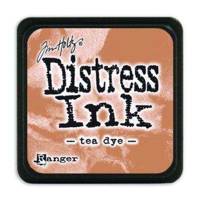 Mini Distress Ink Pad - Tea Dye