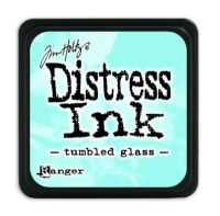 Mini Distress Ink Pad - Tumbled Glass