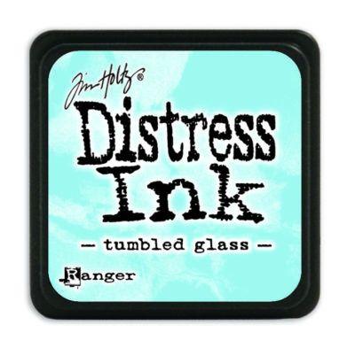 Mini Distress Ink Pad - Tumbled Glass