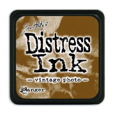 Mini Distress Ink Pad - Vintage Photo