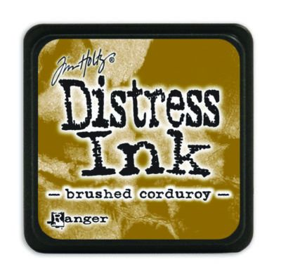 Mini Distress Ink Pad - Brushed Corduroy