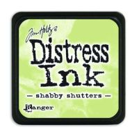 Mini Distress Ink Pad - Shabby Shutter