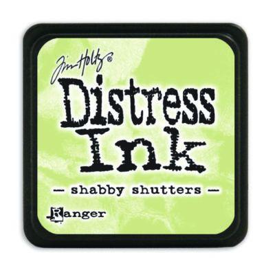Mini Distress Ink Pad - Shabby Shutter