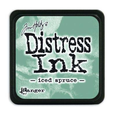 Mini Distress Ink Pad - Iced Spruce