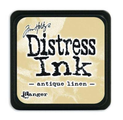 Mini Distress Ink Pad - Antique Linen