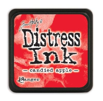 Mini Distress Ink Pad - Candied Apple