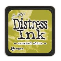 Mini Distress Ink Pad - Crushed Olive