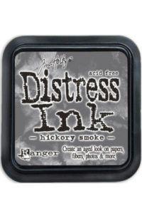 Mini Distress Ink Pad - Hickory Smoke