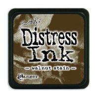 Mini Distress Ink Pad - Wallnut Stain