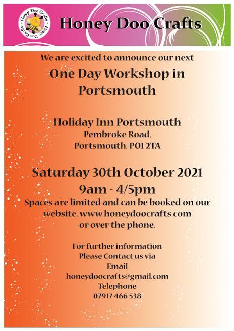 One Day Workshop - Portsmouth, Saturday 30th October 2021