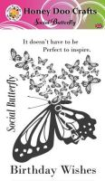Social Butterfly  (A6 Stamp)