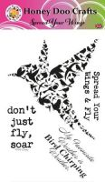 Spread Your Wings  (A6 Stamp)