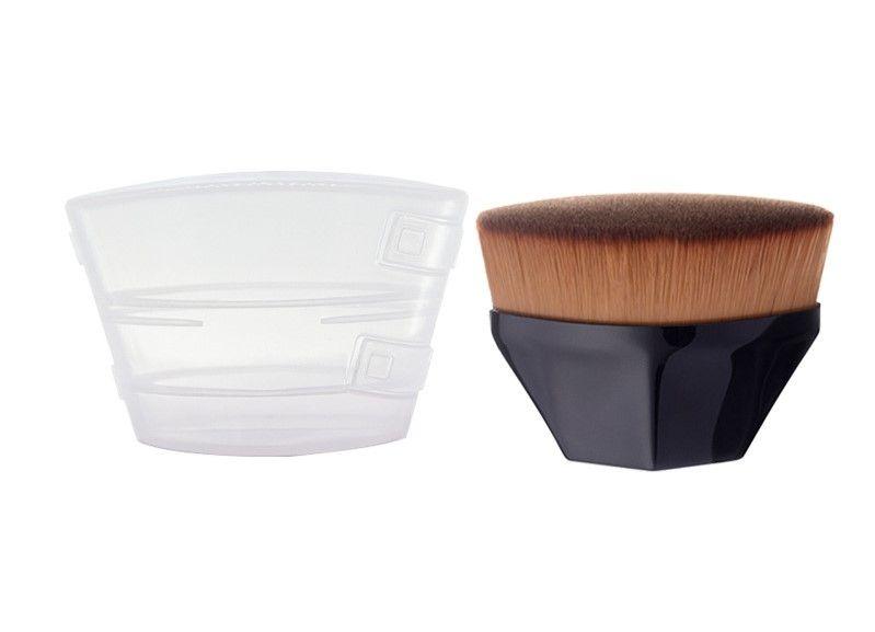 1 Large Oval Blending Brush Black with Case