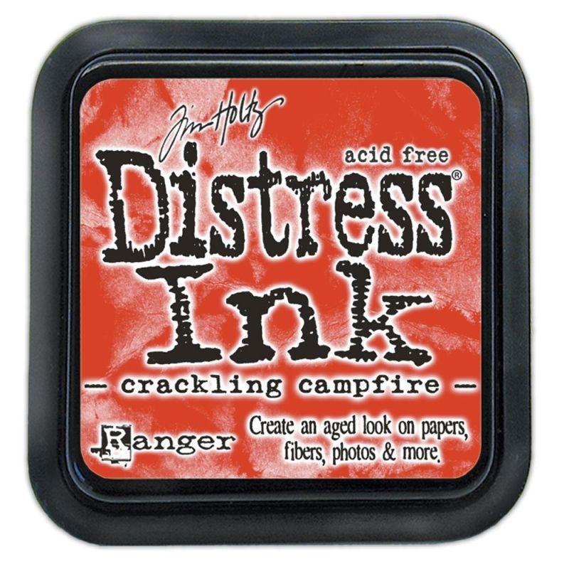 Mini Distress Ink Pad - Crackling Campfire