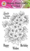 Floral Smile  (A6 Stamp)