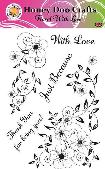 Floral With Love  (A5 Stamp)