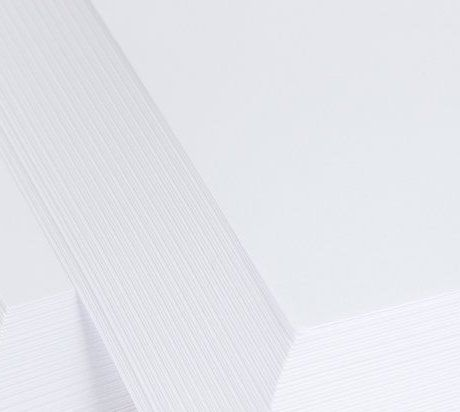 25 Sheets A4 White Super Smooth Stamping Card – 300 Gsm