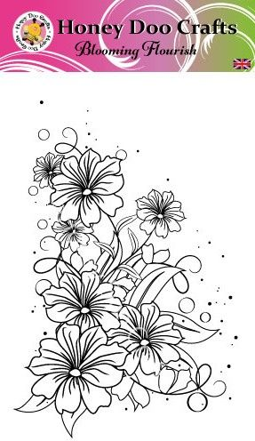 Blooming Flourish   (A6 Stamp)