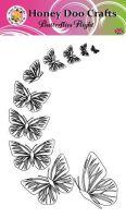 Butterflies Flight   (A6 Stamp)