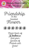 Friendship Quotes  (A6 Stamp)