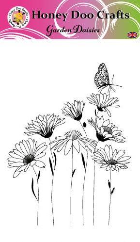 New - Garden Daisies  (A6 Stamp)