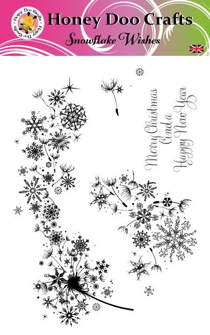 New - Snowflake Wishes  (A5 Stamp)