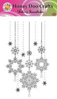 New - Falling Snowflakes  (A6 Stamp)