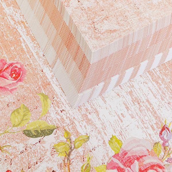 40 A4 Sheets Blissful Card  – Peach