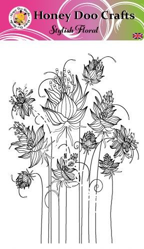 New - Stylish Floral (A6 Stamp)