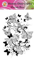 New - Butterfly Burst  (A6 Stamp)