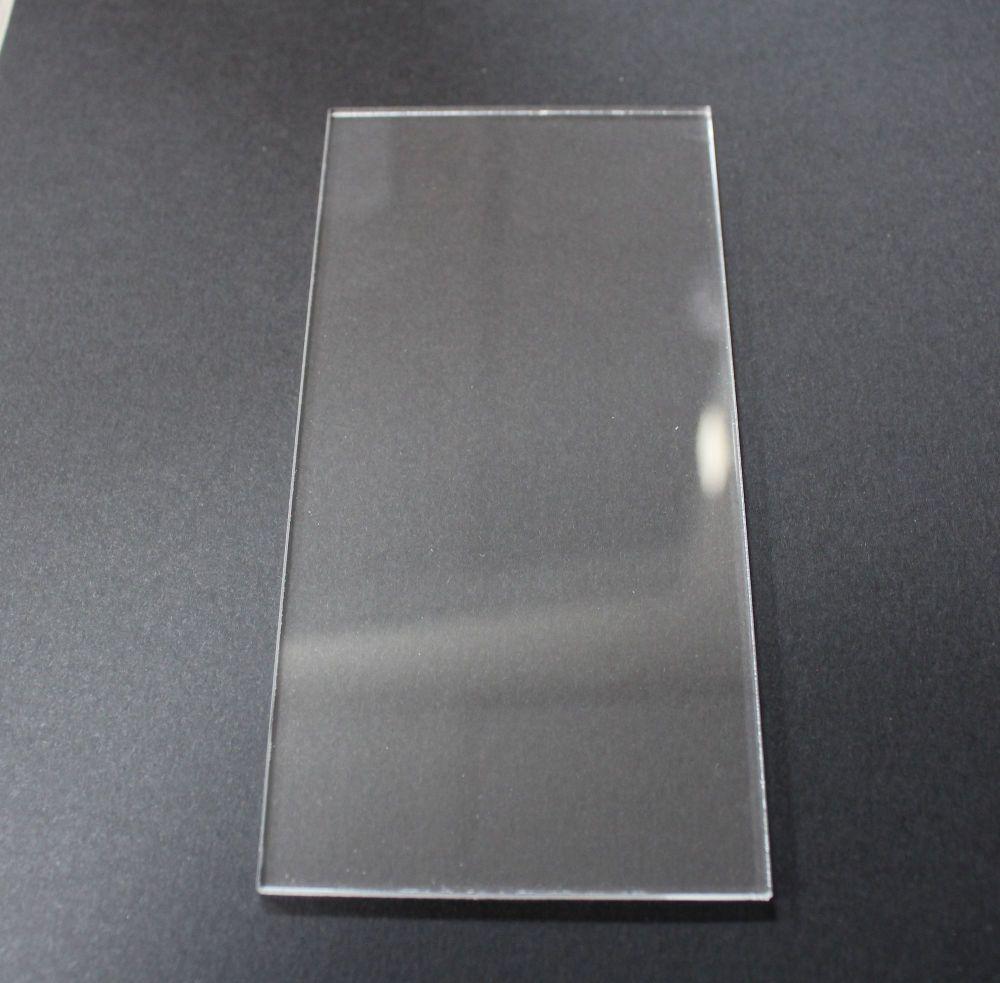Honey Doo Crafts - Acrylic Blocks Slimline - 10cm x 5cm - 3mm Thick