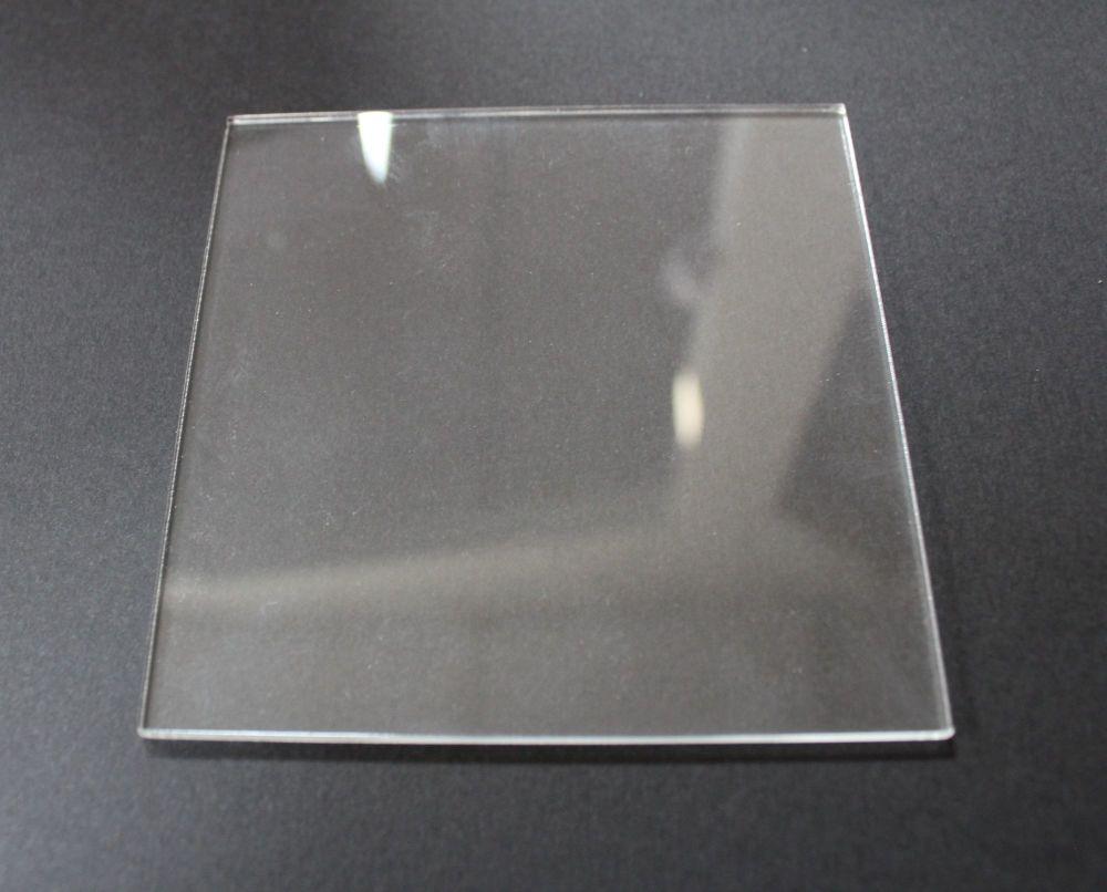 Honey Doo Crafts - Acrylic Blocks Slimline - 10cm x 10cm - 3mm Thick