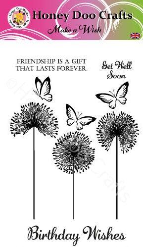 New - Make a Wish   (A6 Stamp)
